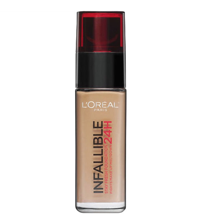 L'Oréal Paris Infallible Liquid Foundation 120 Vanilla