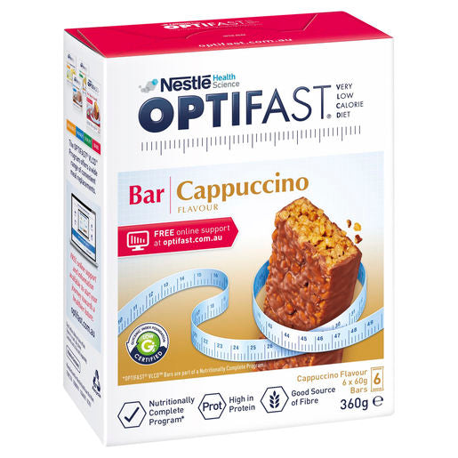 Optifast very low Calorie Diet Bar Cappuccino