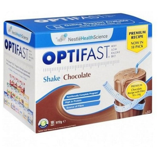 Optifast Milkshake Chocolate 18x53g