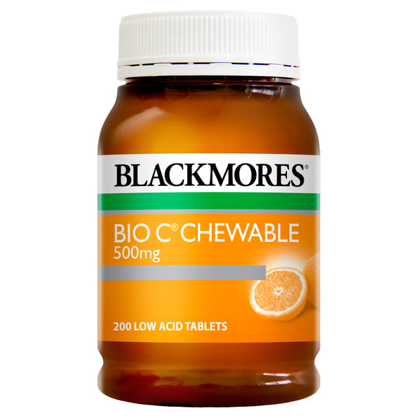 Blackmores Bio C Chewable 500Mg 200