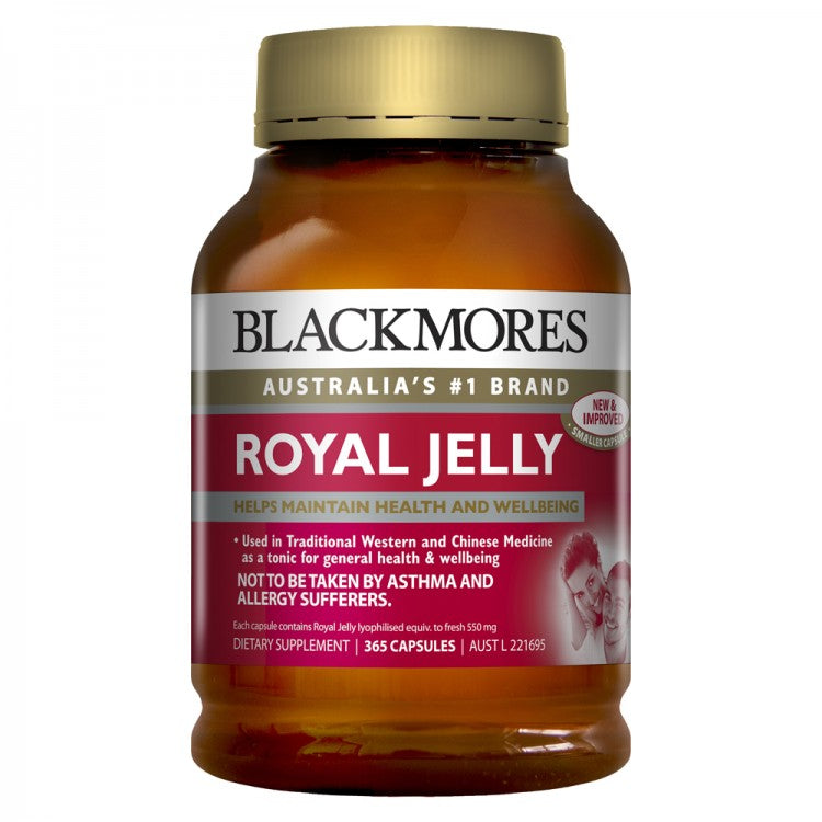 Blackmores Royal Jelly 500Mg 365 Caps