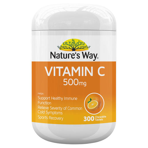 Natures Way Vitamin C 500Mg 300 Tabs