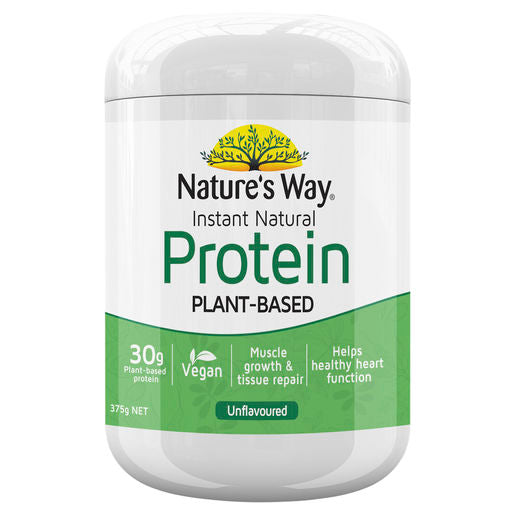 Natures Way Instant Protein Natural Powder 375G