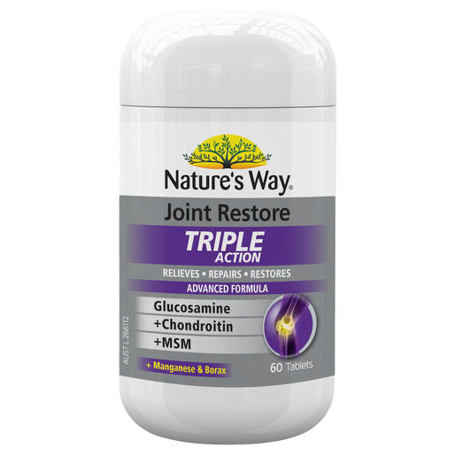 Natures Way Joint Restore Triple Action 60 Tabs