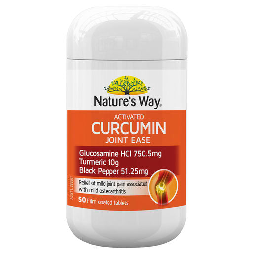 Natures Way Curcumin Joint Ease 50 Tab