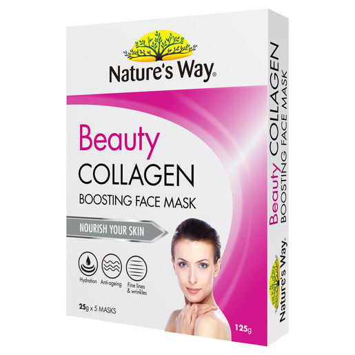 Natures Way Beauty Collagen Mask 5
