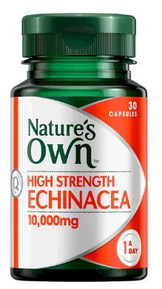 Natures Own High Strength Echinacea 10,000mg 30 Caps