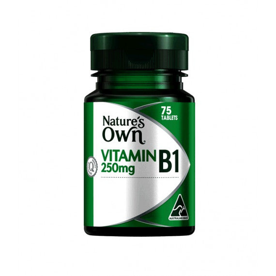 Natures Own Vitamin B1 250mg 75Tab