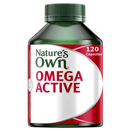 Natures Own Omega Active 120 Caps