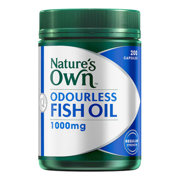 Natures Own Odourless Fish Oil 1000mg 200 Cap