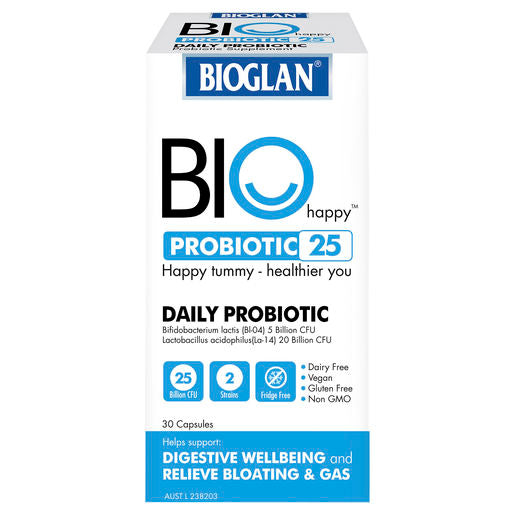 Bioglan Biohappy 25B Probiotic 30 Caps