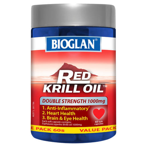 Bioglan Red Krill 1000Mg 60 Caps
