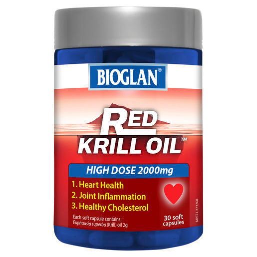 Bioglan Red Krill Oil 2000mg 30s
