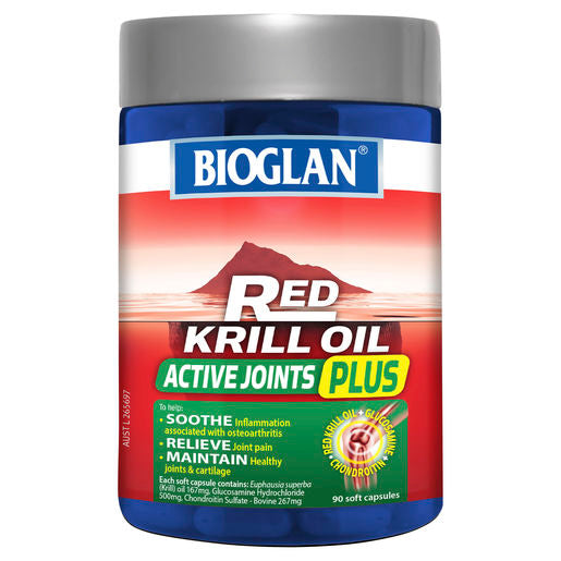 Bioglan Red Krill Active Joints Plus 90 Caps