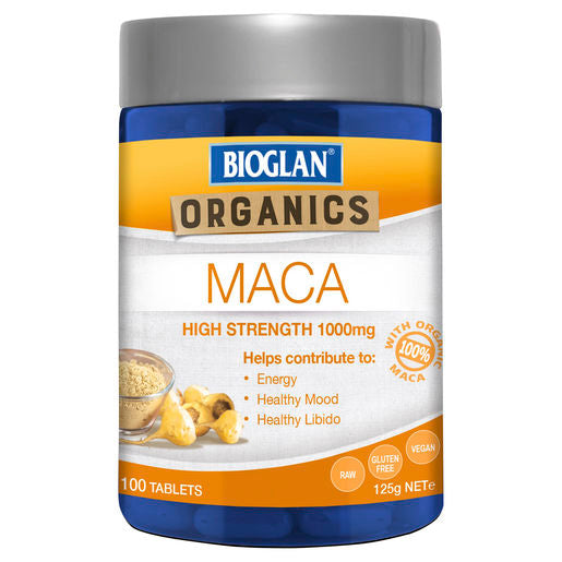 Bioglan Superfoods Maca 100 Caps