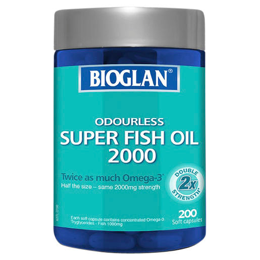 Bioglan Super Fish Oil 2000 200 Caps