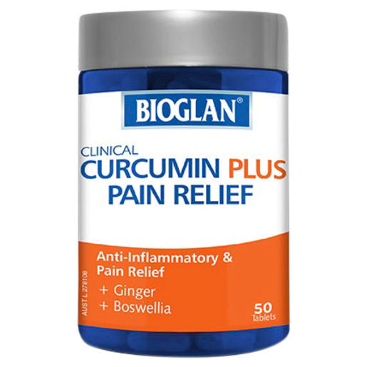 Bioglan Clinical Curcumin Plus Pain Relief 50 Tabs