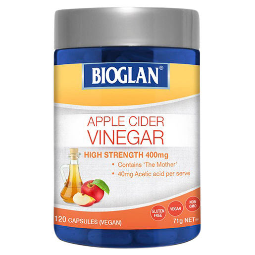 Bioglan Apple Cider Vinegar 120 Caps