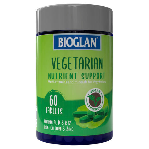 Bioglan Vegetarian Nutrient Support 60 Tablets