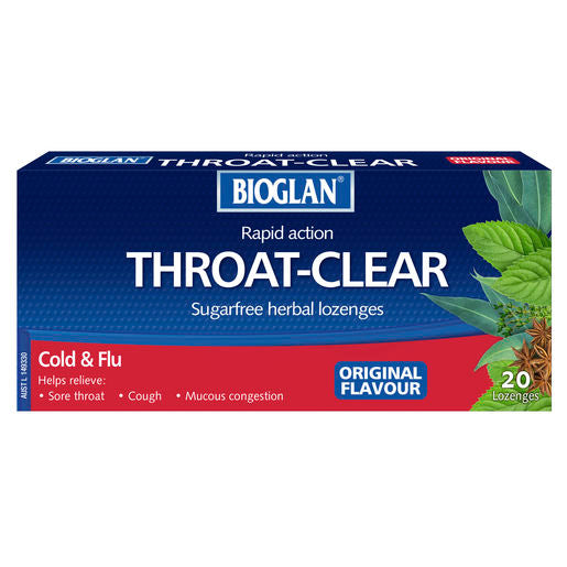 Bioglan Throat Clear Original Lozenges 20