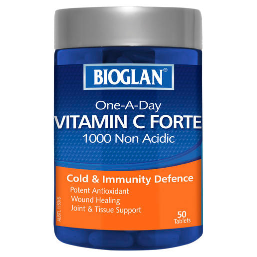 Bioglan One A Day Vit C 1000 50 Tabs