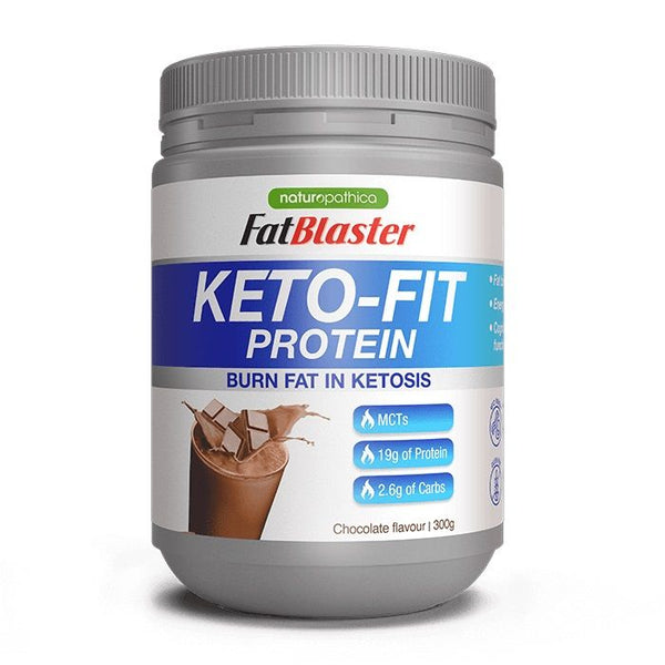 Keto-Fit Plant Protein Shake Chocolate 300g