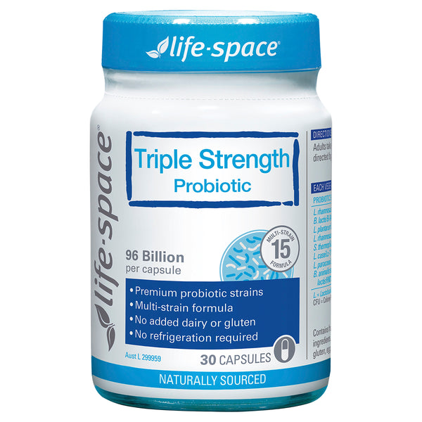 Life Space Probiotic Triple Strength 30Cap