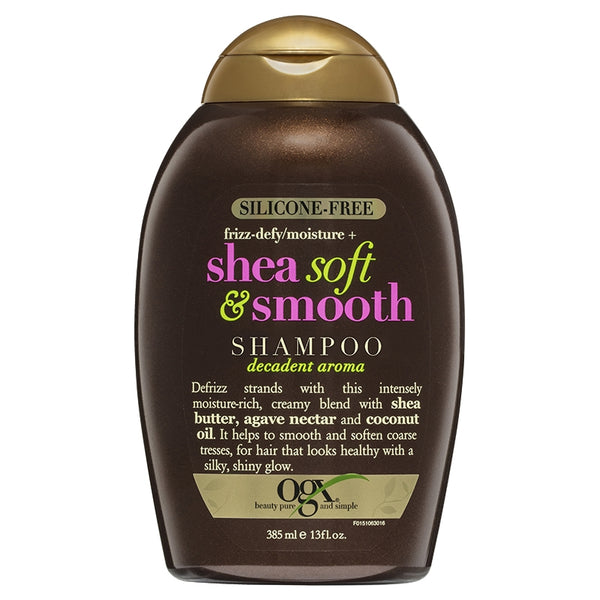 OGX Shea Soft Smooth Shampoo 385mL