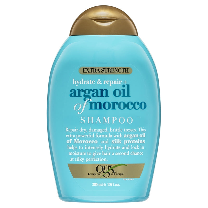 OGX Argan Oil of Morocco Extra Strength Shampoo 385mL