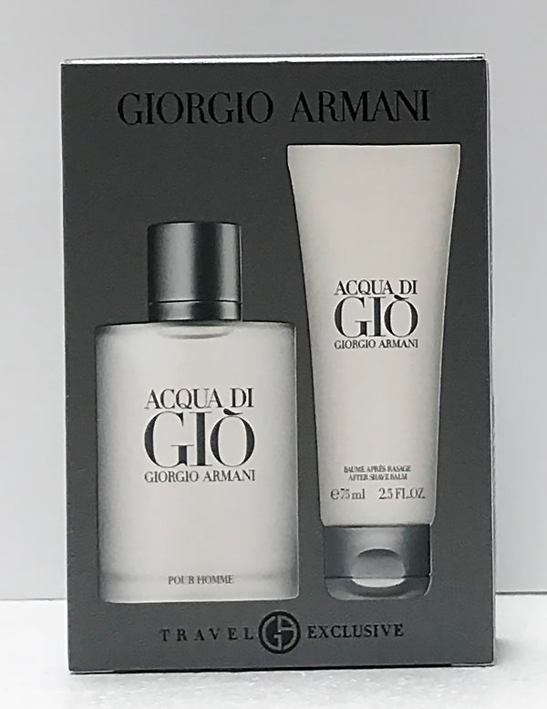 Acqua Di Gio Homme 50ml EDT 2 Piece Gift Set