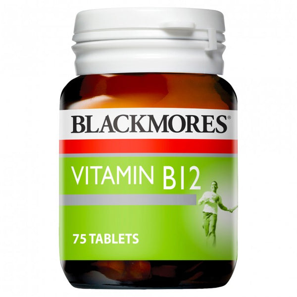 Blackmores Vitamin B12 75 Tabs