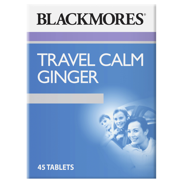 Blackmores Travel Calm Ginger 45 Tabs