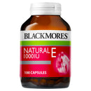 Blackmores Vitamin E 1000Iu 100 Caps