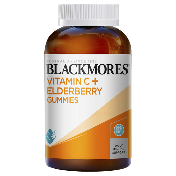 Blackmores Vitamin C Elderberry Gummy (120)