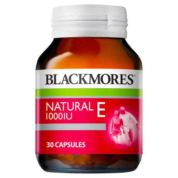 Blackmores Vitamin E 1000Iu 30 Caps