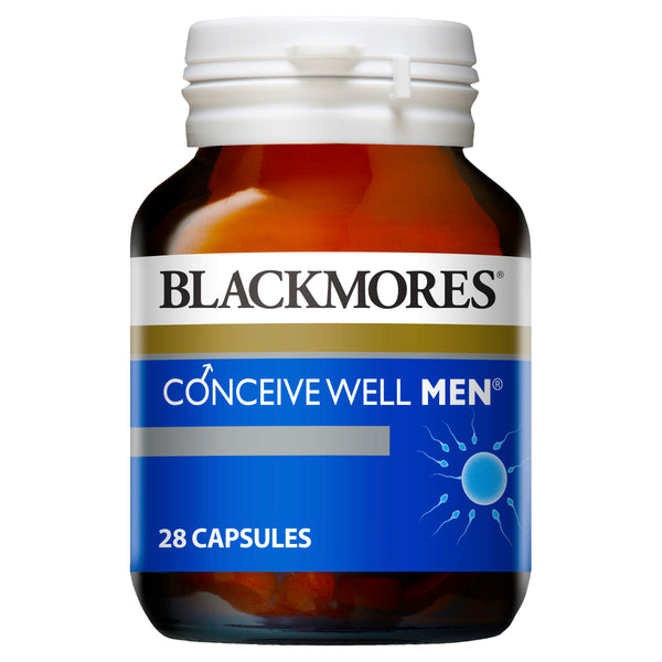 Blackmores Conceive Well Men 28 Caps