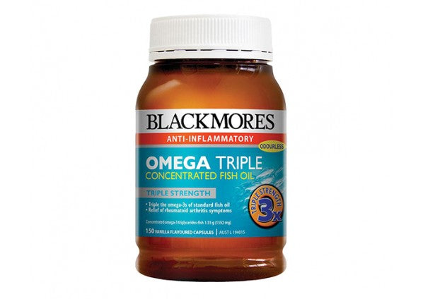 Blackmores Omega Triple Strength 150 Caps