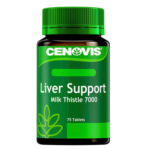 Cenovis Liver Support Milk Thistle 75 Tabs