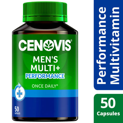 Cenovis Once Daily Premium + Mens Performance 50 Caps