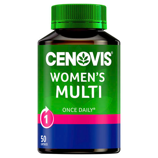 Cenovis Once Daily Womens Multi 50 Caps