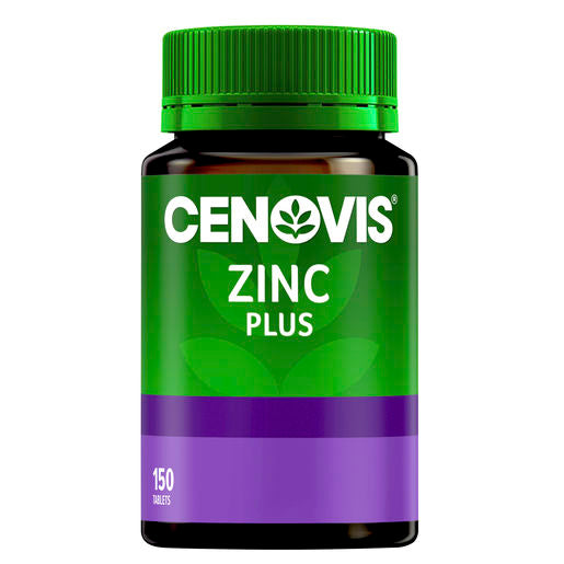 Cenovis Zinc Plus 25Mg 150 Tabs