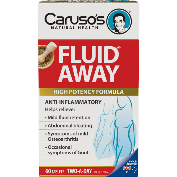 Caruso's Fluid Away® 60 Tablets