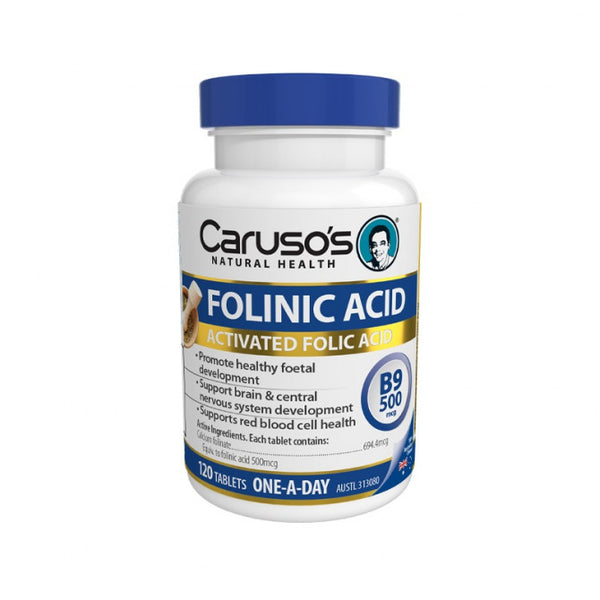 Caruso's Folinic Acid 120 Tablets