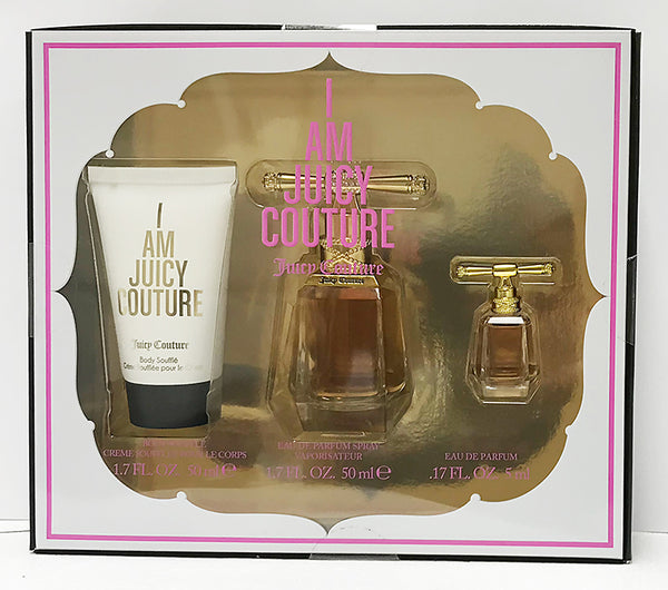 I Am Juicy Couture 3 Piece Gift Set