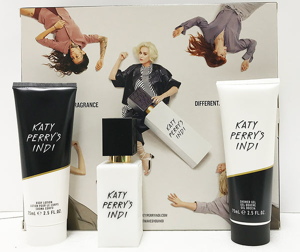 Katy Perry's Indi Gift Set - 30ml EDP + 75ml Body Lotion + 75ml Shower Gel