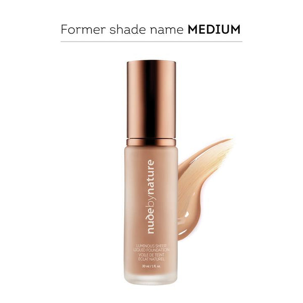 Nude By Nature Luminous Sheer Liquid Foundation Warm Nude 30ml