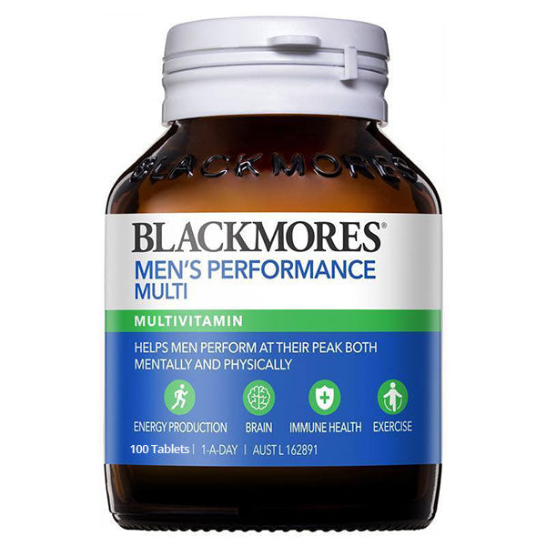 Blackmores Mens Performance Multi 100 Tabs