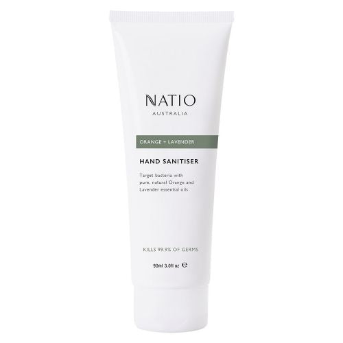Natio Orange & Lavender Hand Sanitiser 90Ml