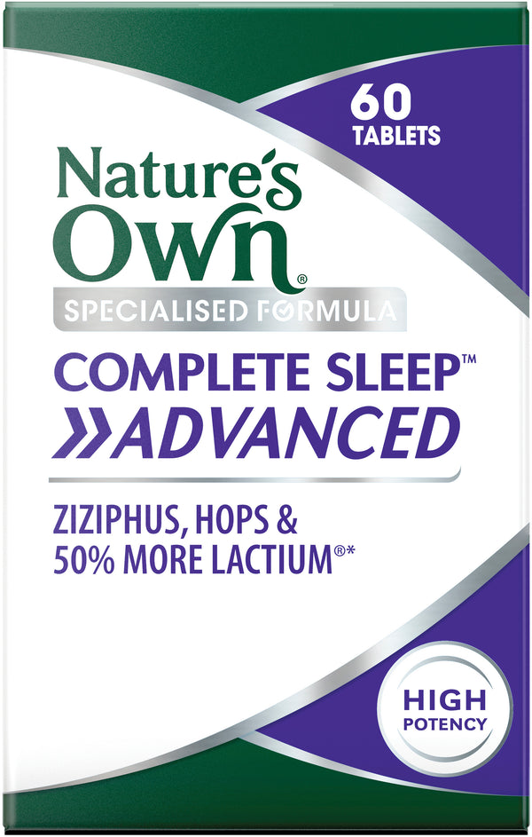 Natures Own Complete Sleep Advanced 60 Tabs