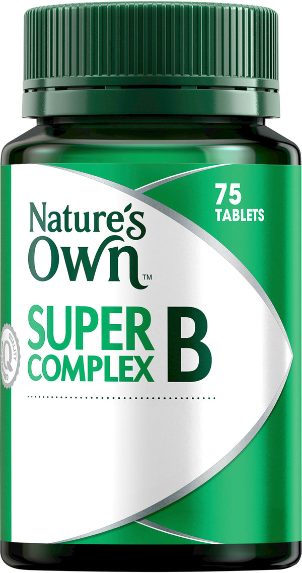 Natures Own Super B Complex 75 Tabs